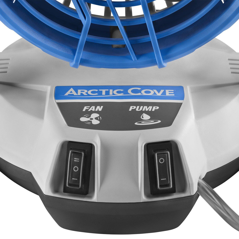 Arctic Cove Mbf018 18v Cordless Bucket Top Misting Fan New