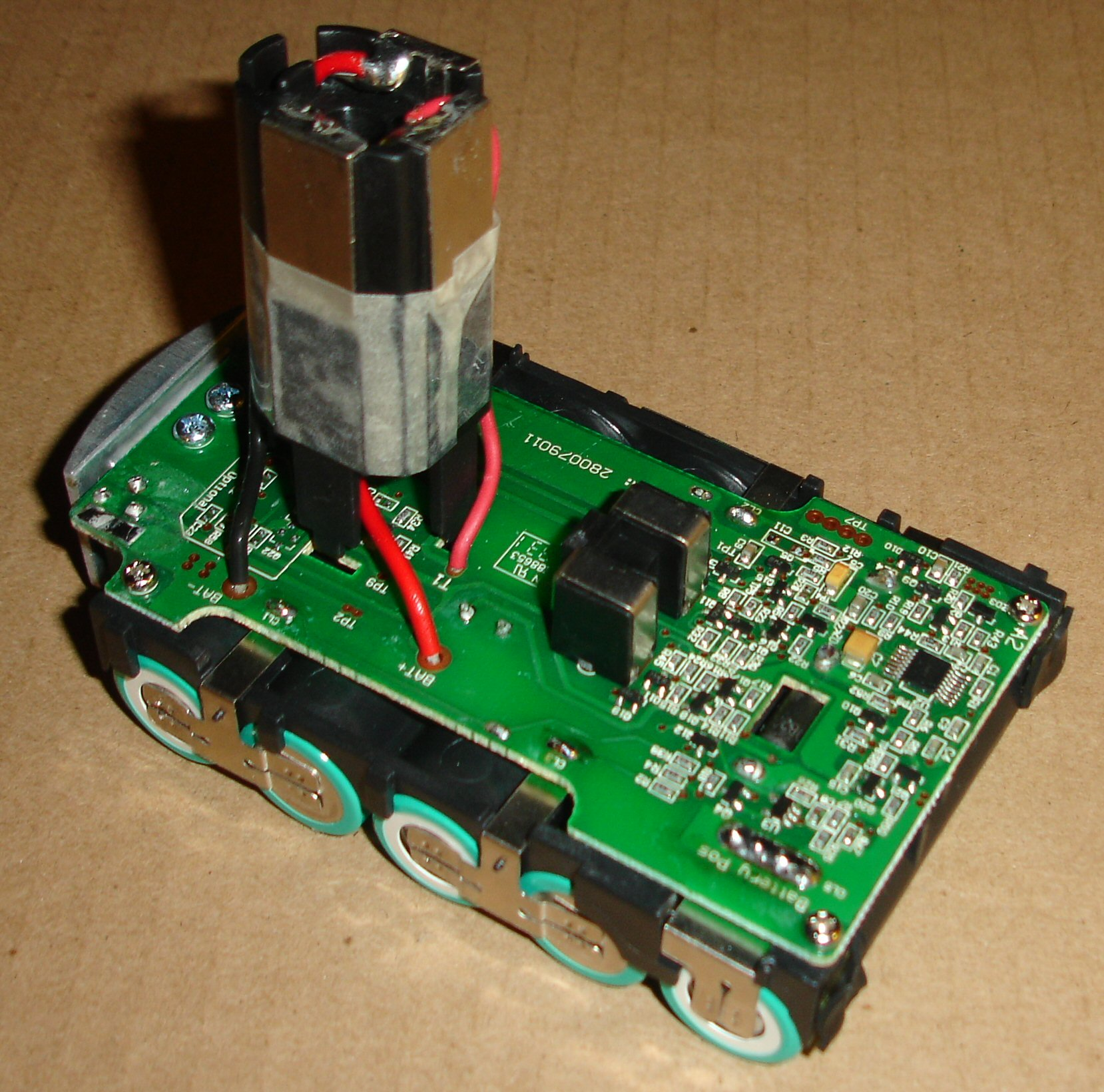 lithium battery inside