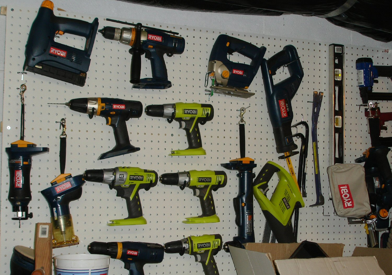 toolboy's Corner: Ryobi 18v Tools