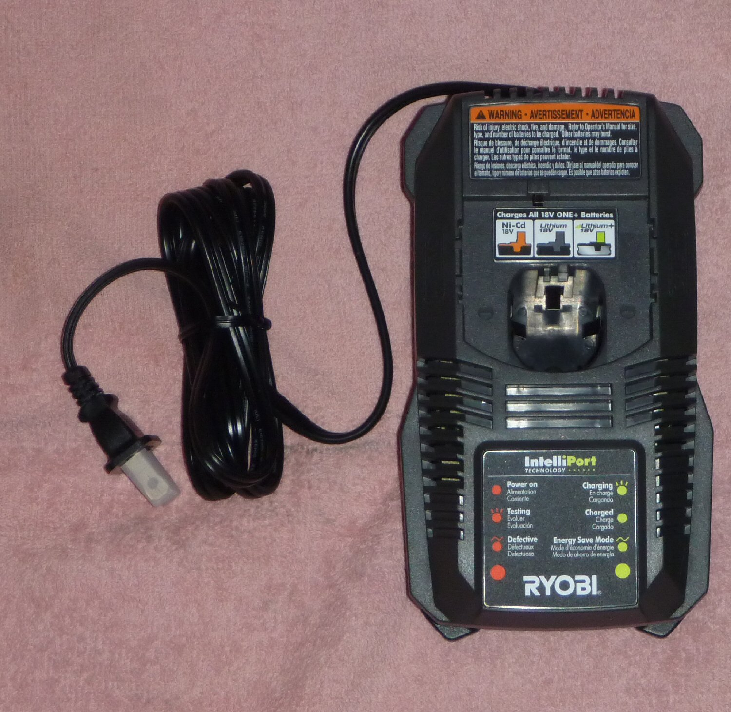 Toolboys Corner Ryobi 18v Chargers Lithium Ion Battery Charger Circuit Usb Schematic Nimh P118 Nickel Cadmium 1 Hour