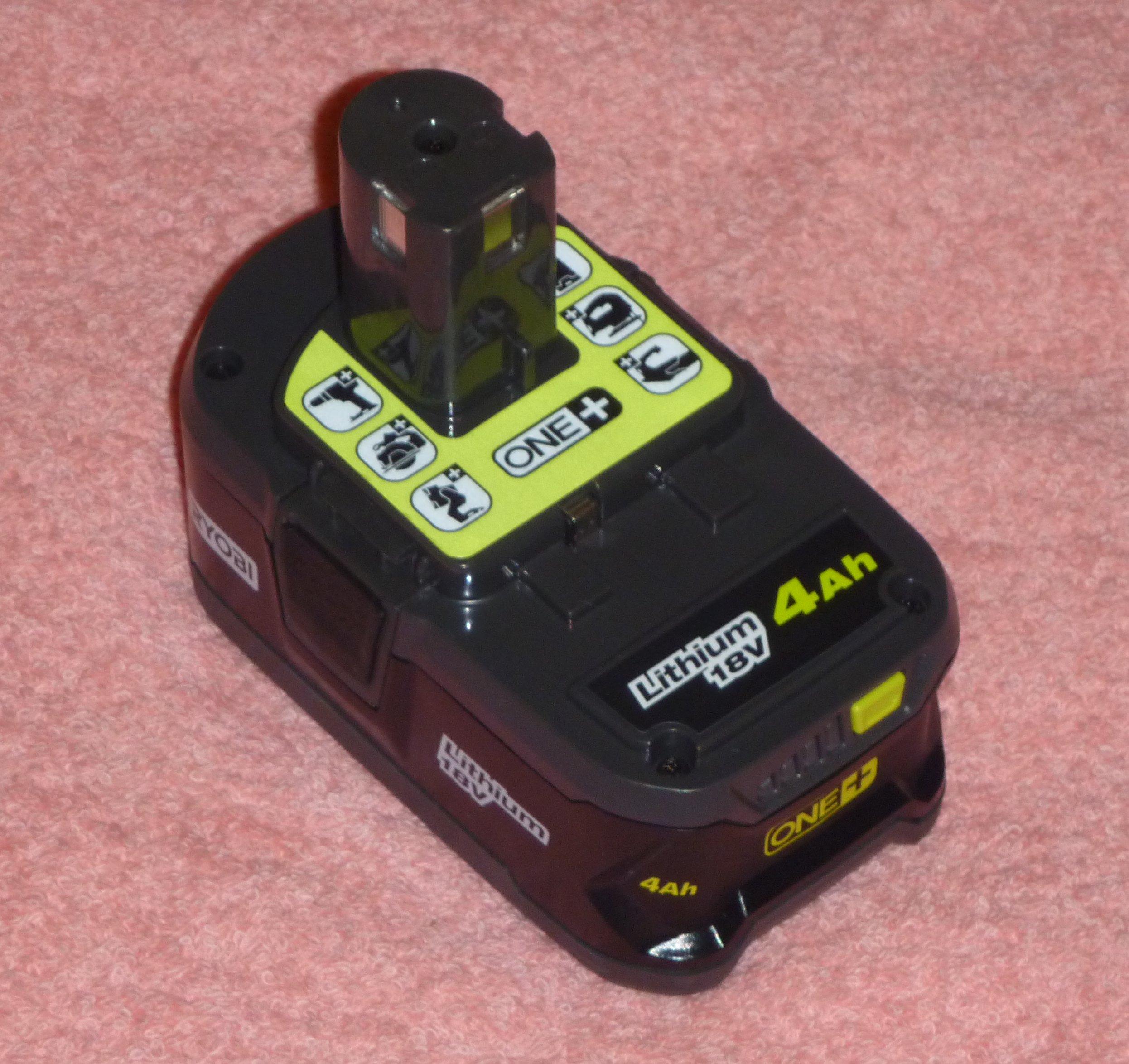 toolboy's Corner: Ryobi 18v Batteries